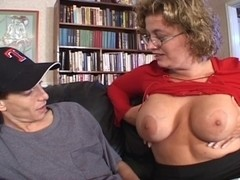 big beautiful woman Golden-Haired Mother I'd Like To Fuck Seduces Youthful Mate