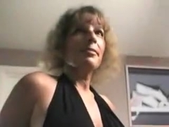 Sexy milf ass in pantyhose and miniskirt