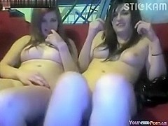 two Legal Age Teenagers Masturbate Jointly