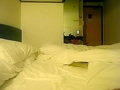 Asian amateur sex in a hotel room