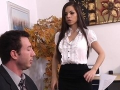 Another kind of job... a blowjob