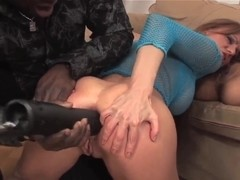 Kitty Jane and Olga Barz fucked by black men