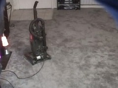 Vacuum cleaning in voyeur xxx