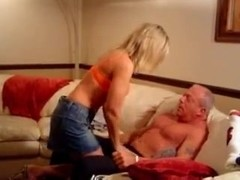 Mature couple suck and fuck