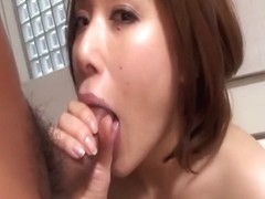 Hottest Japanese model Emi Orihara in Fabulous JAV uncensored Cumshots scene