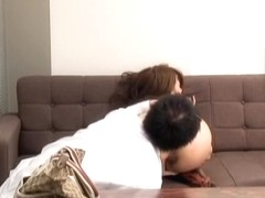 Asian babe gets a kinky treatment during a medical exam