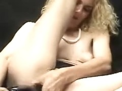 Woman with biggest pump up sex tool
