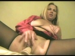mother i'd like to fuck masturbating in crotchless panty pantyhose