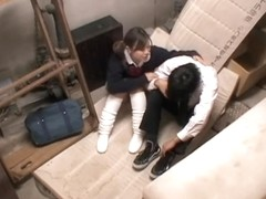 Sweet Jap face fucked in spy cam Japanese hardcore video