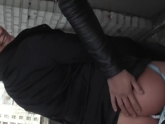 Eva Cats in pickup porn video showing sex between a horny pair