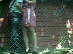 Dark Brown hottie caught on livecam fucking her neighbor.