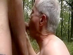 Boning a married man in the woods