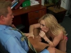 Bill Bailey loving the hardcore sex with the hot blond Samantha Sin