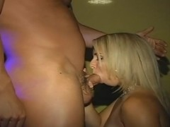 18+ Teens in Strippers on the Blonde