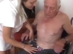 Mature fellow fuck youthful nurse