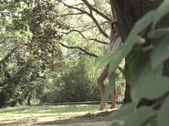 Crazy pornstar in Best Masturbation, Outdoor adult clip