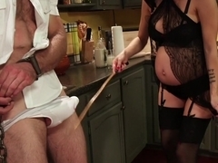 Mistress Gia Dimarco: Powerful, Pregnant and Demanding Attention!