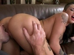 Sexy posh Christy Mack opens her pussy for hardcore!