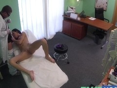 Doctor gives a meaty agonorgasmos to fit juvenile lonely cutie for her birthday