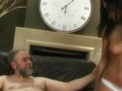 Lucky Old Guy Fucks His Hot Trophy Wife