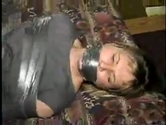 Amateur girl taped in a hotel room