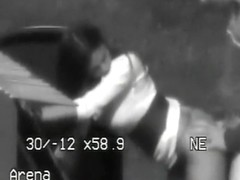 Police filmed sex on a parking lot