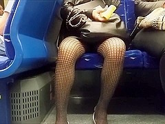 Net Tights Akimbo