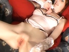 HandsOnOrgasms Video: Polly Lingerie Chair