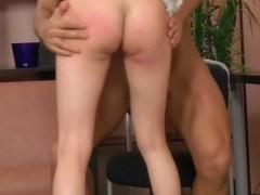 Erotic ass fuck and pussy pounding for hot babe