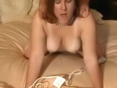 Mature woman enjoying her sex