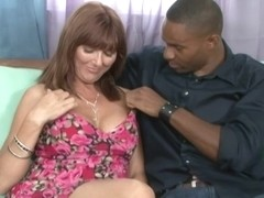 Next Door Mommies: Mature woman takes a fat black cock