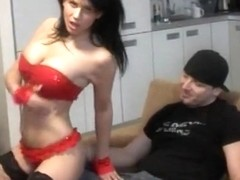 Lapdancer with BIG boobs gives a guy the time of his life