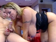 Laura in Milf in Training Gets Fucked In The Ass!