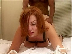 Bound wife and darksome stud-horse