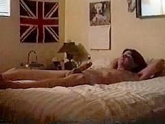 Hot British Girl Gets Pussy Jammed