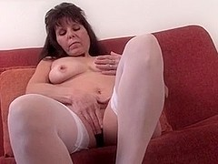 Fit bodied mature woman