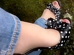 pedal pumping sexy little toes