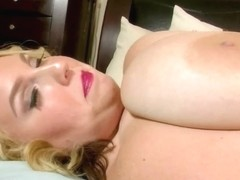 Legal Age Teenager big beautiful woman Shoves Fake Penis in Her Taut Delicate Fur Pie