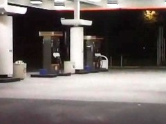 Truck Rest Stop Blowjob Gets Rough