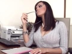 Stacey Foxxx & Levi Cash in Naughty Office