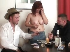 That Babe loses in poker and acquires screwed by 2 studs
