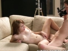 Nubiles-Casting Video: Marissa Mei Gets Casted