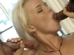 Exotic pornstar Silvia Saint in fabulous threesomes, group sex adult video