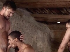 Latin wolf flip flop and cumshot