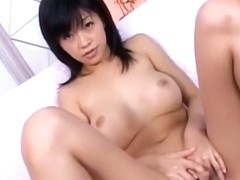 Amazing Japanese whore Sasa Handa in Incredible Solo Female JAV movie
