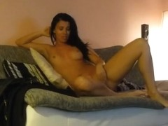 Fucking my horny tanned girlfriend