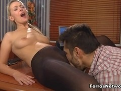 PantyhoseLine Video: Denis and Frederic