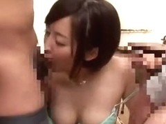 Hottest Japanese chick Yuu Shinoda in Amazing Cumshot, Facial JAV clip