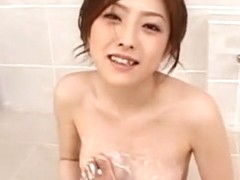 Hottest Japanese whore Ai Haneda in Incredible Fingering, Blowjob JAV clip