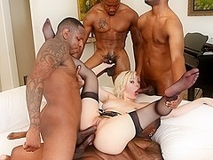 Jenna Ivory & Jon Jon & Rico Strong & Isiah Maxwell in Blacked Out #04, Scene #02